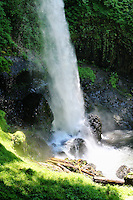 North Falls in Silver Falls State Park in July