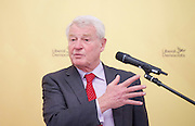 Paddy Ashdown former Liberal Democrat leader gives a speech on the importance of staying in Europe for Britain's place and influence in the world.<br /> Drawing on his personal experiences from his time in Bosnia and directly challenging the Brexit campaign's claims on sovereignty.<br /> 10th June 2016<br /> at the RAF Club, London , Great Britain <br /> <br /> <br /> Paddy Ashdown <br /> Baron Ashdown of Norton-sub-Hamdon<br /> <br /> Photograph by Elliott Franks <br /> Image licensed to Elliott Franks Photography Services