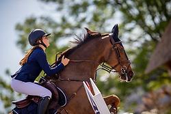 Frederick Charlotte, BEL, Electron Du Houssoit<br /> Belgisch Kampioenschap - Azelhof 2019<br /> © Hippo Foto - Dirk Caremans