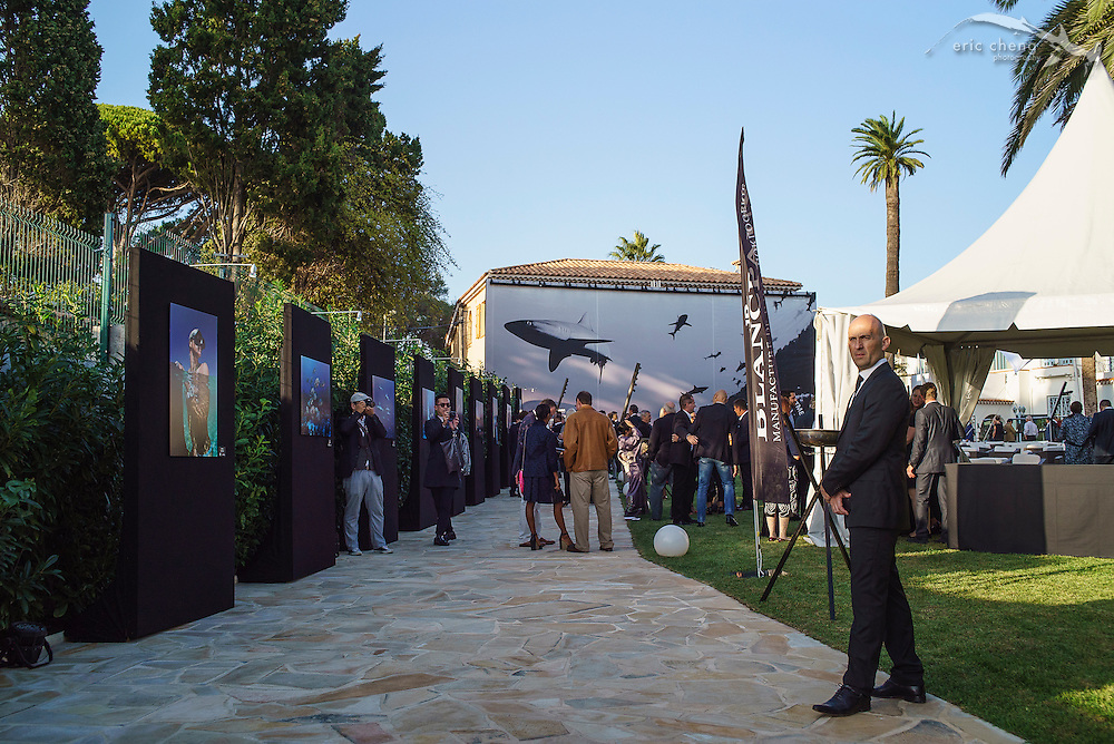 Entryway, Blancpain Ocean Commitment event in Antibes