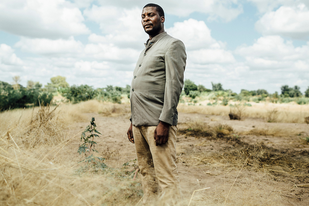 """Makiyi Lewis, 36, Malawi. """"I Lost my land."""" 