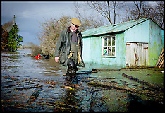 FEB 09 2014 Nigel Farage visits Somerset Levels  Floods
