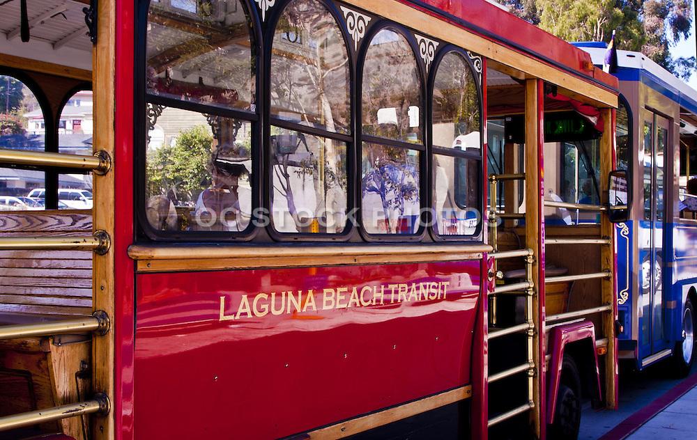 Laguna Beach Transit Trolley