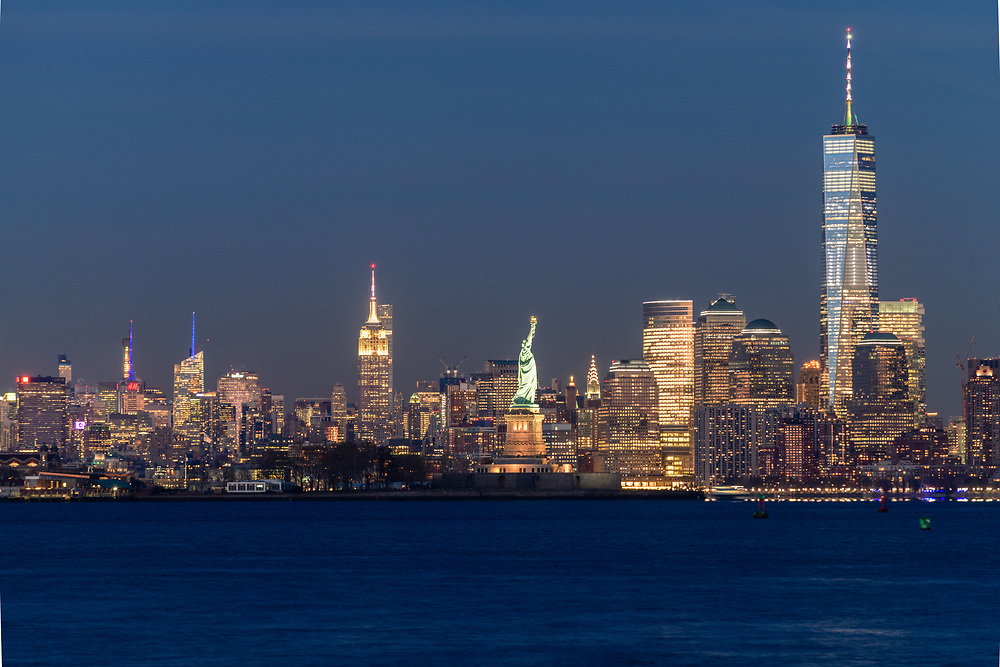 Lower Manhattan Skyline, New York City, NY