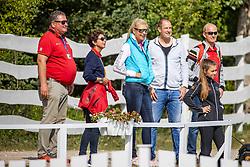 THEODORESCU Monica (Bundestrainer GER), PLOENZKE Anja<br /> Impression am Rande<br /> U25 Grand Prix - Einzelentscheidung<br /> Pilisjászfalu - FEI Youth Dressage EUROPEAN CHAMPIONSHIPS 2020<br /> 19. August 2020<br /> © www.sportfotos-lafrentz.de/Stefan Lafrentz