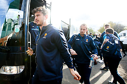 Sam Lewis of Worcester Warriors arrives at Welford Road - Mandatory by-line: Robbie Stephenson/JMP - 03/11/2018 - RUGBY - Welford Road Stadium - Leicester, England - Leicester Tigers v Worcester Warriors - Gallagher Premiership Rugby