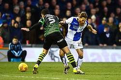 Stuart Sinclair of Bristol Rovers is tackled by Mathieu Baudry - Mandatory by-line: Dougie Allward/JMP - 23/12/2017 - FOOTBALL - Memorial Stadium - Bristol, England - Bristol Rovers v Doncaster Rovers - Skt Bet League One