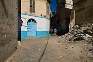 Algeria, Annaba . the old arabic area in the  city center     / la vielle ville arabe dans le quartier musulman  Bone  Algerie  Annaba 006