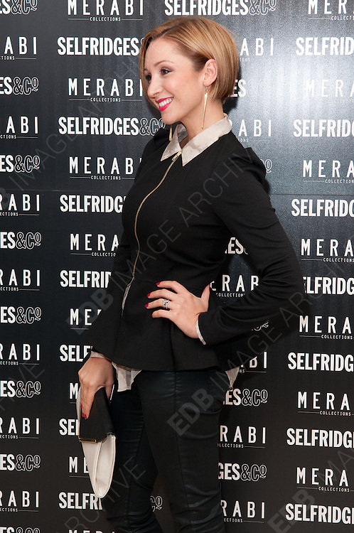 24.OCTOBER.2012. MANCHESTER<br /> <br /> LUCY-JO HUDSON AT THE LAUNCH OF MERABI COTURE AT SELFRIDGES, TRAFFORD CENTRE, MANCHESTER.<br /> <br /> BYLINE: EDBIMAGEARCHIVE.CO.UK<br /> <br /> *THIS IMAGE IS STRICTLY FOR UK NEWSPAPERS AND MAGAZINES ONLY*<br /> *FOR WORLD WIDE SALES AND WEB USE PLEASE CONTACT EDBIMAGEARCHIVE - 0208 954 5968*