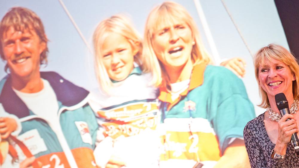 SPAIN, Alicante. 3rd November 2011. Volvo Ocean Race Legends Regatta Prizegiving. Pippa Blake.