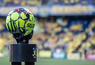 Kampbolden er klar til kampen i 3F Superligaen mellem Brøndby IF og Silkeborg IF den 14. juli 2019 på Brøndby Stadion (Foto: Claus Birch)
