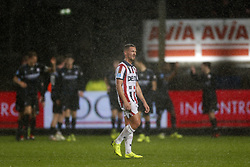 Donis Avdijaj of Willem II during the Dutch Eredivisie match between Willem II Tilburg and sc Heerenveen at Koning Willem II stadium on December 08, 2018 in Tilburg, The Netherlands