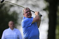 Pat McEnroe (Co Cavan GC) during the All Ireland Fourball Inter Club Ulster finals, Killymoon Golf Club, Cookstown, Tyrone, Northern Ireland. 25/08/2019.<br /> Picture Fran Caffrey / Golffile.ie<br /> <br /> All photo usage must carry mandatory copyright credit (© Golffile | Fran Caffrey)