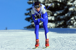 Slovenian cross-country skier Luka Prosen at 10th OPA - Continental Cup 2008-2009, on January 17, 2009, in Rogla, Slovenia.  (Photo by Vid Ponikvar / Sportida)