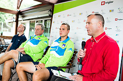 Gregor Gracnar at Media day of the Deaf tennis player Marino Kegl, organised by ZSIS - POK, on June 29, 2017 in Murska Sobota, Slovenia. Photo by Vid Ponikvar / Sportida