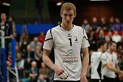 20170225 NED: Eredivisie, Valei Volleybal Prins - Coolen - Alterno: Ede<br />Bram Langevoort of Coolen Alterno<br />©2017-FotoHoogendoorn.nl / Pim Waslander