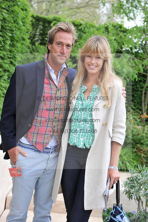 BEN FOGLE and his wife MARINA at the 2013 RHS Chelsea Flower Show held in the grounds of the Royal Hospital, Chelsea on 20th May 2013.