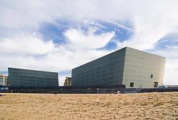 Palacio de Congresos y Auditorio Kursaal. San Sebastian. Rafael Moneo Architect