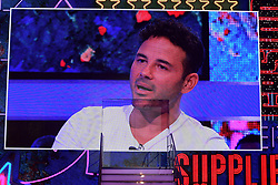 Winner Ryan Thomas is interviewed during the live final of Celebrity Big Brother at Elstree Studios, Hertfordshire.