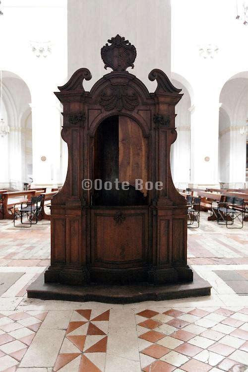 ornate confessional
