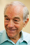 Republican presidential hopeful Ron Paul campaigns on Tuesday, August 2, 2011 in Iowa City, IA.