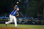 John Stankewicz pitches in relief for Cherry Hill during a Section 4 Little League final against Cherry Hill held in Gloucester Sunday night.