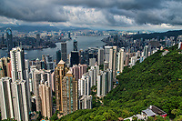 Eastern View of Hong Kong from Victoria Peak