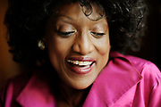 LOS ANGELES, CA- July 20, 2011:  Soprano opera singer, Jessye Norman, at the Langham Huntington Hotel on July 20, 2011. (Mariah Tauger / Los Angeles Times)