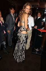 LADY VICTORIA HERVEY at a party to celebrate the 50th Anniversary of Gina Shoes held at The Bar, The Dorchester, Park Lane, London on 19th September 2006.<br />