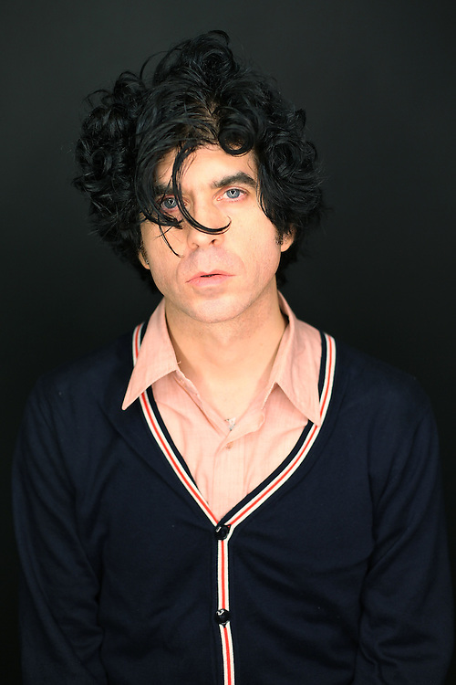 MONTICELLO, NY - SEPTEMBER 11:  Musician Ian Svenonius poses for a portrait at ATP New York 2009 festival at the Kutsher's Country Club on September 11, 2009 in Monticello, New York.  (Photo by Roger Kisby/Getty Images)