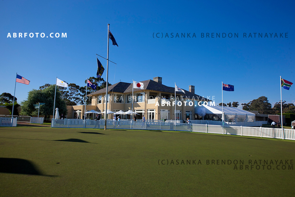16 November 2011 : The Royal Melbourne Golf Club, club house. Home of the the 2011 Presidents in Melbourne, Australia. .