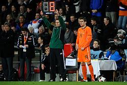09-02-2011 VOETBAL: NEDERLAND - OOSTENRIJK: EINDHOVEN<br /> Netherlands in a friendly match with Austria won 3-1 / Substitute Kevin Strootman NED<br /> ©2011-WWW.FOTOHOOGENDOORN.NL