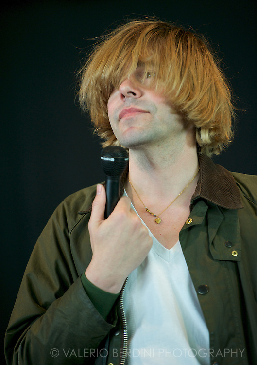 Tim Burgess at Field Day in London 25 may 2013 victoria park