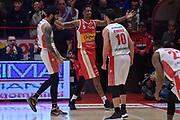 Petteway Terran , Williams Troy<br /> LegaBasket Serie A 2019/2020<br /> 14° Giornata - Andata - 22/12/2019<br />  OriOra Pistoia - Carpegna Prosciutto Basket Pesaro 91-79 <br /> PISTOIA PalaCarrara22/12/2019 Ore 12:00<br /> foto GiulioCiamillo/Ciamillo