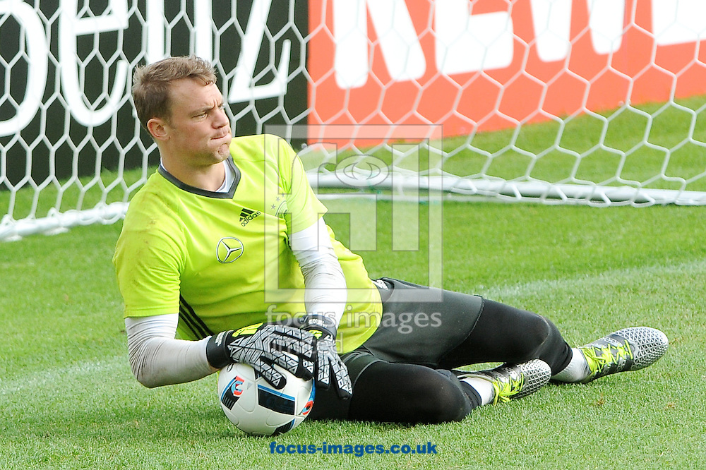 Manuel Neuer of Germany during training at Stadio Communale, Ascona<br /> Picture by EXPA Pictures/Focus Images Ltd 07814482222<br /> 31/05/2016<br /> ***UK &amp; IRELAND ONLY***<br /> EXPA-EIB-160531-0048.jpg