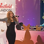London November 19th Super star  Mariah Carey turns on Westfield London's Christmas Lights ...***Agreed Fee's Apply To All Image Use***.Marco Secchi /Xianpix. tel +44 (0) 771 7298571. e-mail ms@msecchi.com .www.marcosecchi.com