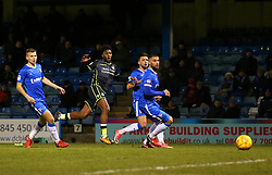 Ellis Harrison of Bristol Rovers shoots at goal - Mandatory by-line: Robbie Stephenson/JMP - 16/12/2017 - FOOTBALL - MEMS Priestfield Stadium - Gillingham, England - Gillingham v Bristol Rovers - Sky Bet League One