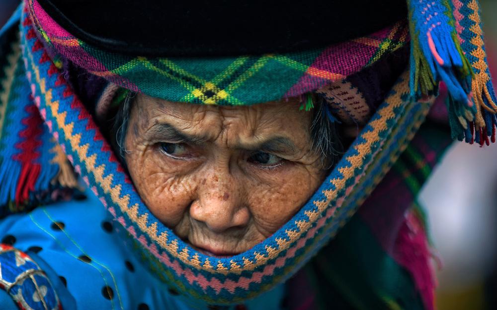 A woman at the Bac Ha market, Vietnam.