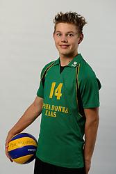 29-10-2014 NED: Selectie Prima Donna Kaas Huizen mannen, Huizen<br /> Selectie seizoen 2014-2015 / Mats Bleeker