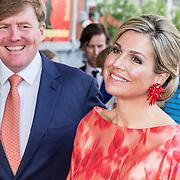 NLD/Amsterdam/20150604 - Koningspaar aanwezig bij de opening van het Holland Festival, Koning Willem Alexander en koningin Maxima