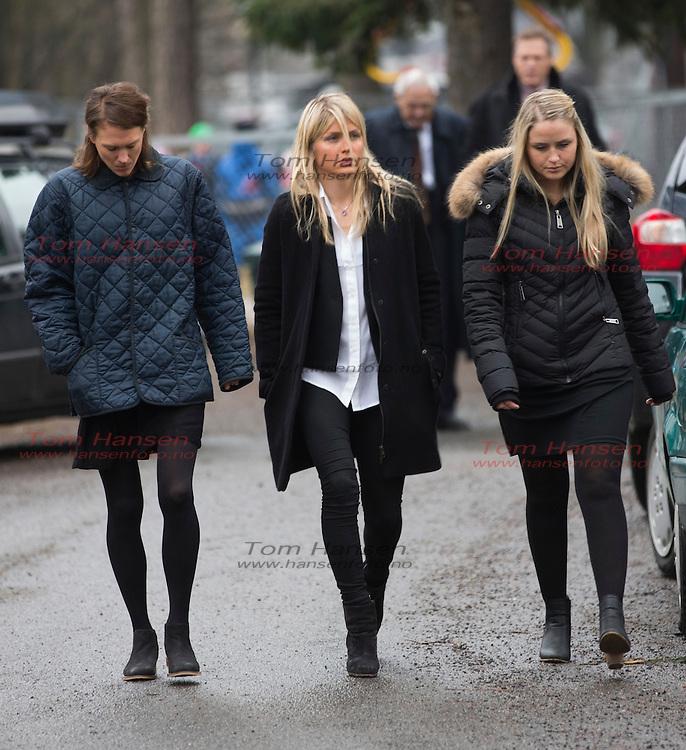 OSLO,  20140226: Begravelse for Astrid Uhrenholdt Jacobsens bror fra Ris kirke.  Therese Johaug.  FOTO: TOM HANSEN