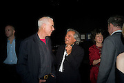 RICHARD LONG AND ANISH KAPOOR, Opening of Blood on Paper: the art of the Book. V & A. Museum. London. 14 April 2008. Afterwards there was a dinner hosted by Lady Foster.  *** Local Caption *** -DO NOT ARCHIVE-© Copyright Photograph by Dafydd Jones. 248 Clapham Rd. London SW9 0PZ. Tel 0207 820 0771. www.dafjones.com.