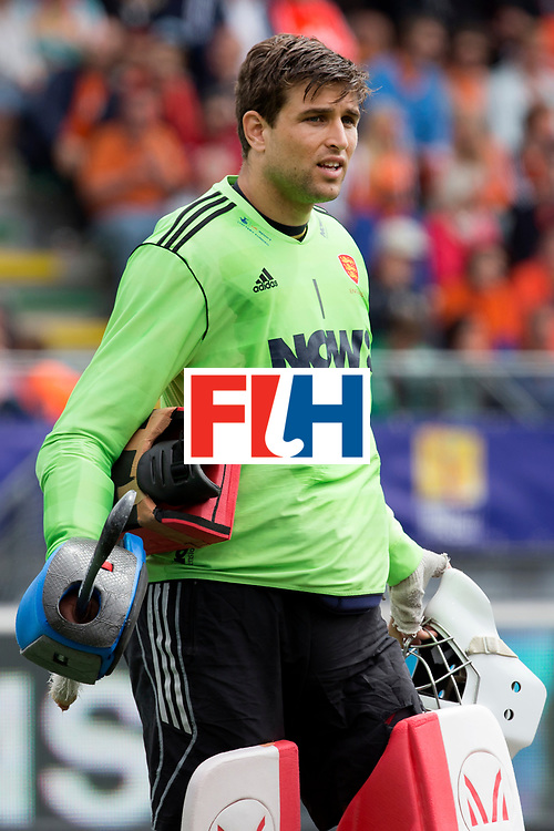 THE HAGUE - Rabobank Hockey World Cup 2014 - 15-06-2014 - 3/4 Place - MEN -  ARGENTINA - ENGLAND  - George Pinner.<br /> Copyright: Willem Vernes