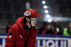 February 8, 2019 - Torino, Italia - Foto LaPresse/Nicolò Campo .8/02/2019 Torino (Italia) .Sport.ISU World Cup Short Track Torino - 500 meter Men Preliminaries.Nella foto: Songnan Yu..Photo LaPresse/Nicolò Campo .February 8, 2019 Turin (Italy) .Sport.ISU World Cup Short Track Turin - 500 meter Men Preliminaries.In the picture: xxx (Credit Image: © Nicolò Campo/Lapresse via ZUMA Press)
