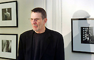 FILE PHOTO: Actor/Director Leonard Nimoy is seen at the opening of his photo exhibition entitled Kabbalah in Black and White at the Gershman YMCA in Philadelphia, November 30, 1999.  Twelve of his photographs are on display until Dec. 20. (Photo by William Thomas Cain/Cain Images