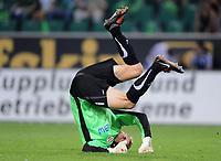 Fotball<br /> Tyskland<br /> Foto: Witters/Digitalsport<br /> NORWAY ONLY<br /> <br /> 07.08.2009<br /> <br /> Torwart Jens Lehmann Stuttgart<br /> <br /> Bundesliga VfL Wolfsburg - VfB Stuttgart 2:0
