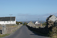 Road to Kilronan on the Aran Islands County Galway Ireland