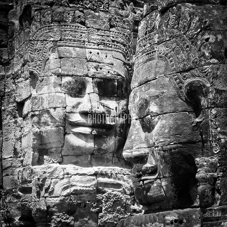 Faces of Bayon, Siem Reap, Cambodia