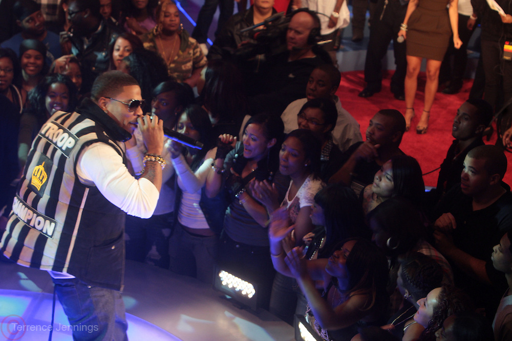 6 October 2010- New York, New York- Nelly performs at The 10th Anniversary Celebration of BET's 106 & Park, BET's most popular music series of all time held at CBS Studios on October 6, 2010 in New York City. Photo Credit: Terrence Jennings