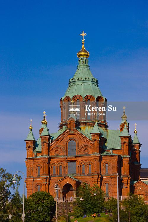 Uspenski Orthodox Cathedral, Helsinki, Finland